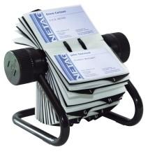 Visifix Rollkartei Inkl 200 Hüllen Und 25tlg Register Für 400 Visitenkarten 104 X 72 Mm
