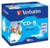 CD-R Rohlinge - 700MB/80Min  52-fach/Jewel Case  Packung mit 10 Stück