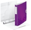 Ringbuch Active WOW - A4  Polyfoam  4 Ringe  30 mm  violett